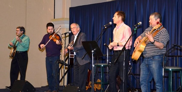 Dicey Reilly is a 5-piece  Maritime-Celtic band