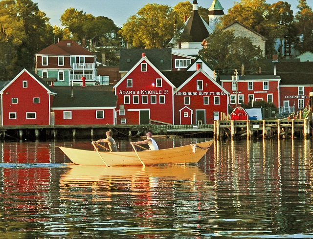 Lunenburg Waterfront by Ward Isnor